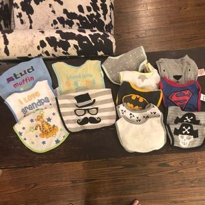 Other - Set of 14 baby bibs